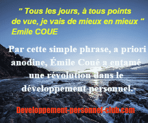 Autosuggestion Emile Coué