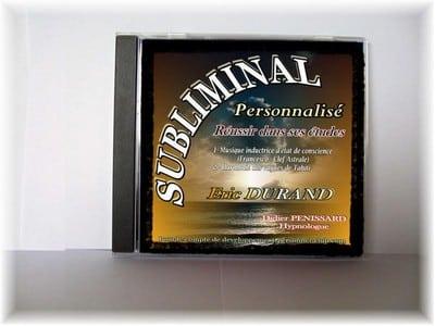 Exemple d'un CD subliminal personnalisé réalisé par nos soins messages subliminaux personnalisés