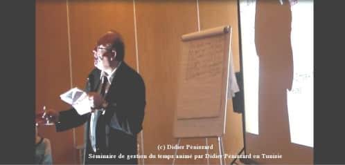 Didier penissard conférencier en gestion du temps Didier Pénissard Coach et formateur en développement personnel