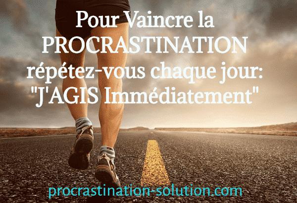 citation pour vaincre sa procrastination et des solutions pour se sortir de la mauvaise habitude de remettre au lendemain
