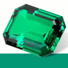 chromothérapie vert émeraude apporte une relative sérénité