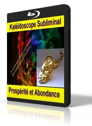 Kaléïdoscope vidéo subliminal attirer l'abondance et la prospérité