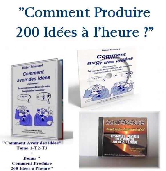 """Programme complet : """"Comment avoir des idées"""""""