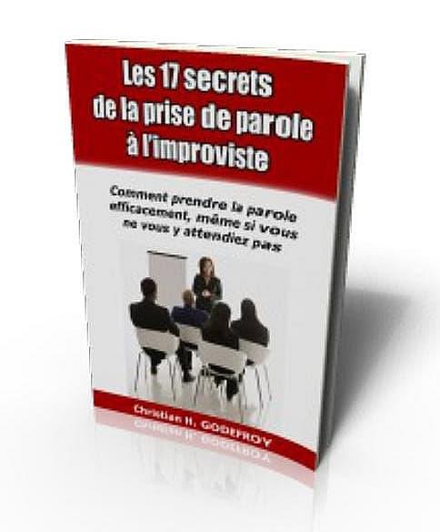 Ebook pdf gratuit prise de parole à l'improviste