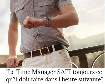 comment devenir un time manager, le test