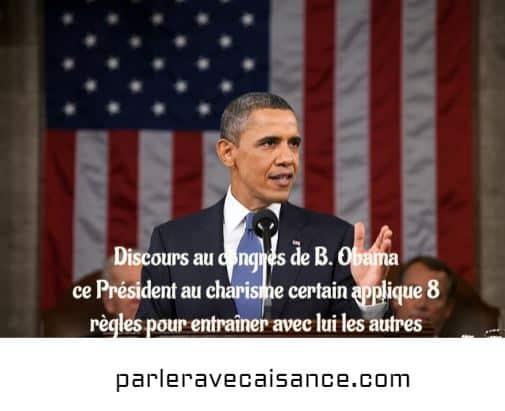 Barak Obama était passé maître de la technique du squelette en revenant souvent à Une idée-force de son discours