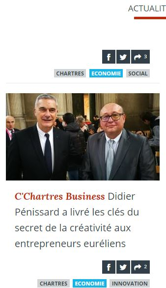 Didier Pénissard coach entreprises