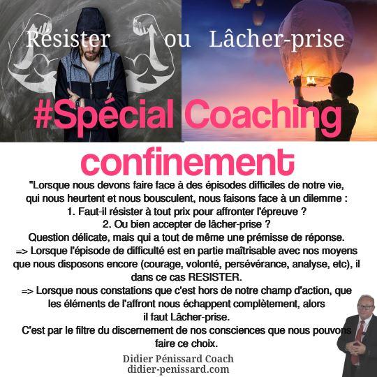 coaching lâcher-prise