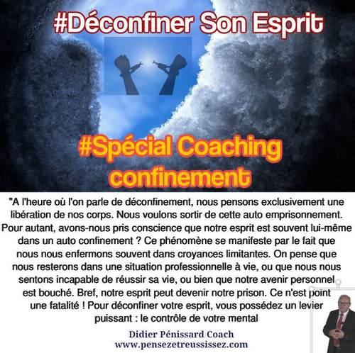 coaching confinement spécial