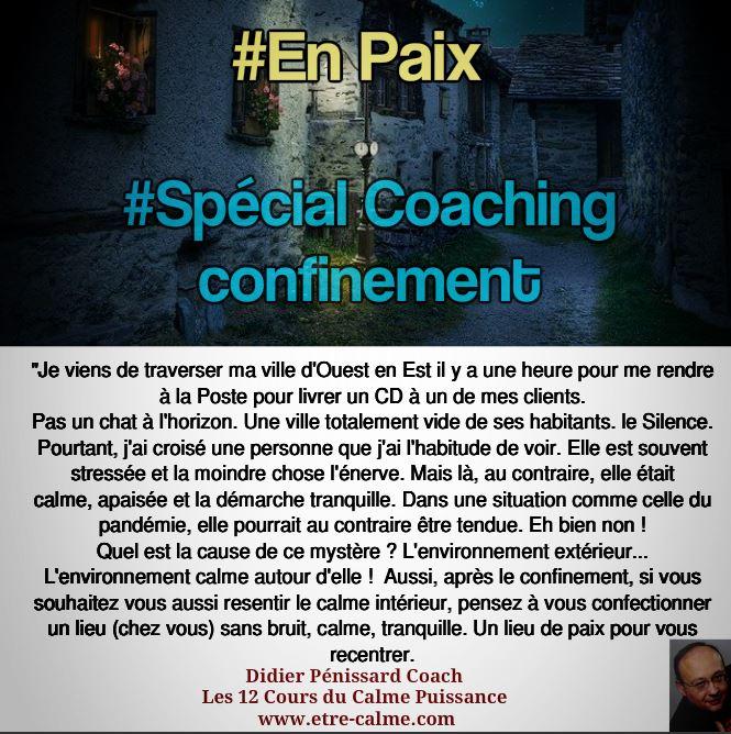 Coaching paix intérieure